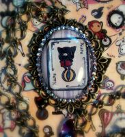 Sentimental Circus picture pendant by slinkskull