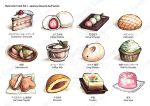 Watercolor Foods Collection - Sample by eikomakimachi