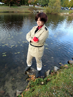 APH - Romano cosplay by daggerhime