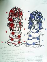 Red and Blue by sasuke72328