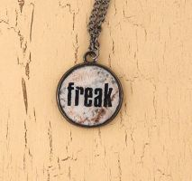 Freak necklace by skuggsida