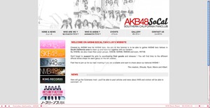 WEB INTERFACE - AKB48SoCal by melodydassance