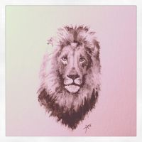 Lion by alarie-tano