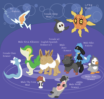 Egglocke The Leftovers by Lion-Oh-Day