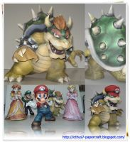 Bowser King Koopa SSBB by enrique3