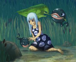 Under the rain by Koklico