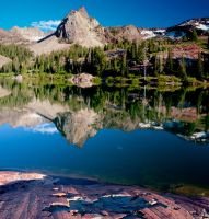 Sundial Peak from Lake Blanche by mikewheels