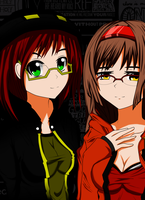 Glasses (OC with no name and Story Backgrounds) by raidenG377