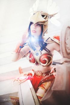 League of Legends - Valkyrie Leona by TineMarieRiis