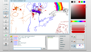 Warriors Iscribble by L1lly-flow3rX