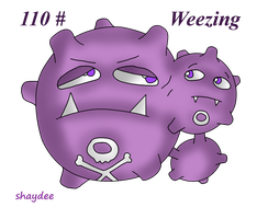 Weezing by The-Real-Shaydee