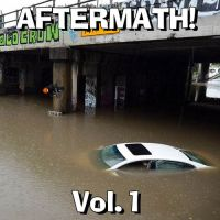 Aftermath! Vol. 1 mix tape cover by Don-O