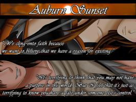 Auburn Sunset: Teaser by Samuraiflame
