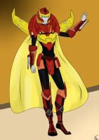 Rodimus the Rebel by PurrV