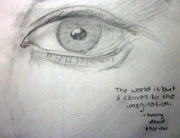 Just a canvas to the imagination... by hopefortommorow