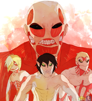 Attack on Titan by Wowza-Wowzers