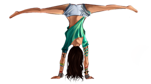 Practice: hand stand by D-Kiddo
