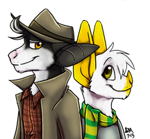 Detective Duo by Blairaptor