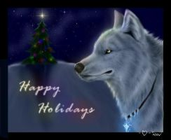 Happy Holidays from Snow by Starcanis