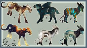 Fantasy Creature Adopts - CLOSED by CobraVenom