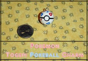 Pokemon Togepi Pokeball Charm by YellerCrakka