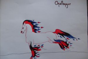 Challenger by obsidianhart