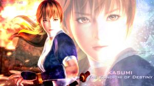 Kasumi : `~ The Kunoichi of Destiny ~` by VeiradA