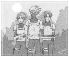 NARUTO - Anbu-Best of the best by vlvtnightmare
