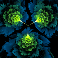 Digitalized Flowers by XNexicX
