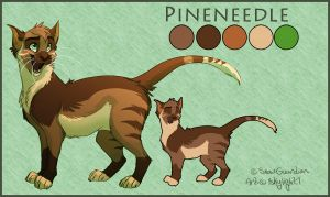 Pineneedle Ref COMMISH by 1skylight1