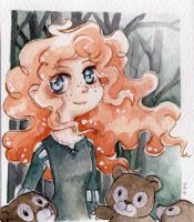 Merida from Brave by lilie-morhiril