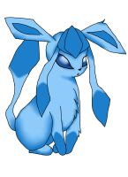 Glaceon c: by strangmusicobsession