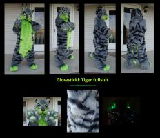 Glowstickk Tiger fullsuit by stuffedpanda-cosplay