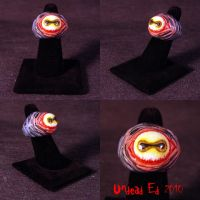 Rot Ring Goblin eye Evil eye by Undead-Art