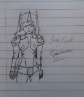 Cybertronian Lucy Tenshi by Lil-9