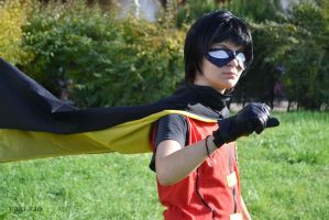 Dick Grayson - Robin by yuki-sora-vao