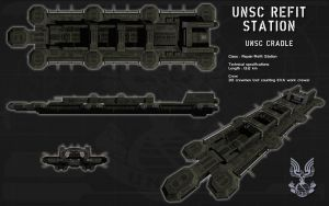 UNSC Refit Station ortho by unusualsuspex