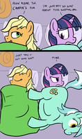 Sleeping Bag by FlavinBagel