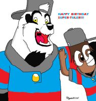 Happy birthday Super-Tuler(2014) by Africa2000