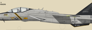 F-14F VF-103 by talos56