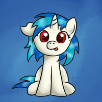 Filly Vinyl Scratch by EROCKERTORRES