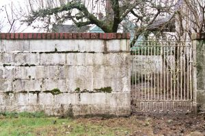 Old Fence and Gate by happeningstock
