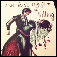 I've Lost My Fear of Falling by freelancedoe