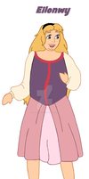 Thick Princess Eilonwy by ColdHeartedCupid