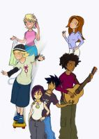 6teen gang take 3 COLOURED by daanton