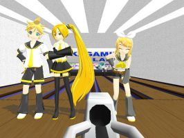 MMD Kagamine Lanes Stage Download by Party-P