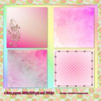 4 Rosa Papers Preview by Creativescrapmom