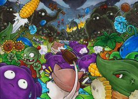 PvZ - Survival Endless by Merinid-DE