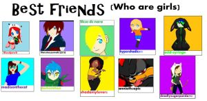 BEST FRIENDS (Who are girls) by Vegetanina