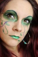 Green Fairy Make Up by Talasia85